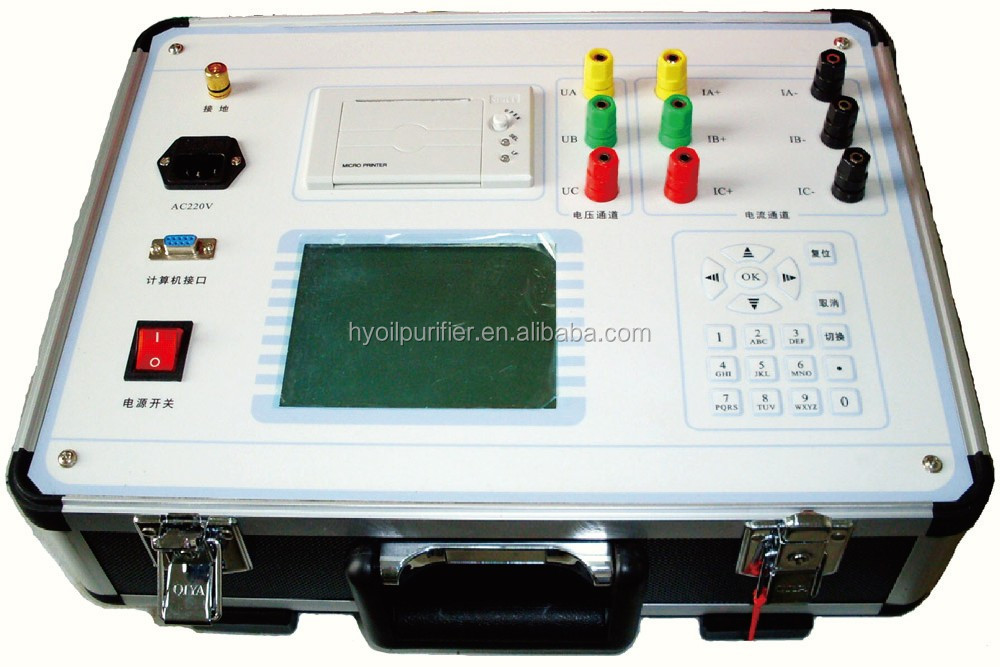 GDKF Transformer Power tester for load loss and no load loss testing