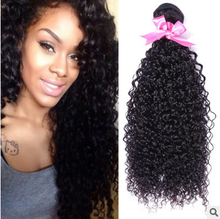 Fashion Peruvian human virgin hair kinky wave wig