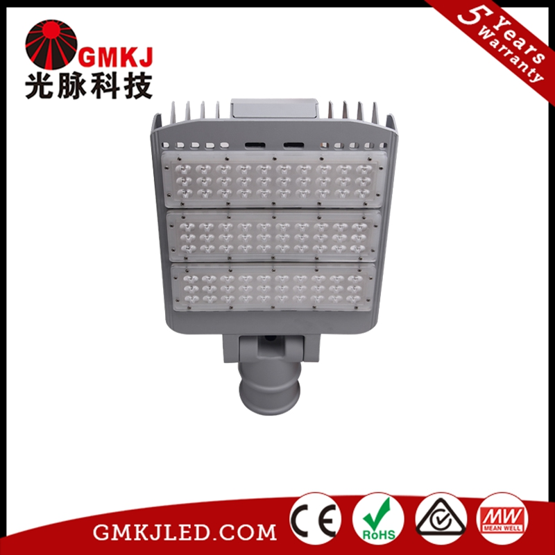 GMKJ high Shock/Vibration resistant led street light with IP65 150w 5Years warranty