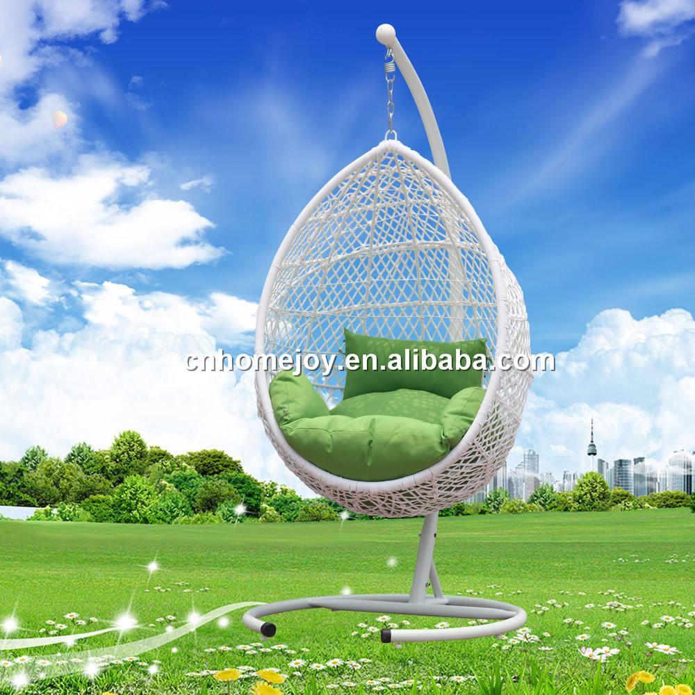 Patio jard n colgante silla de mimbre rat n colgante huevo for Silla huevo colgante