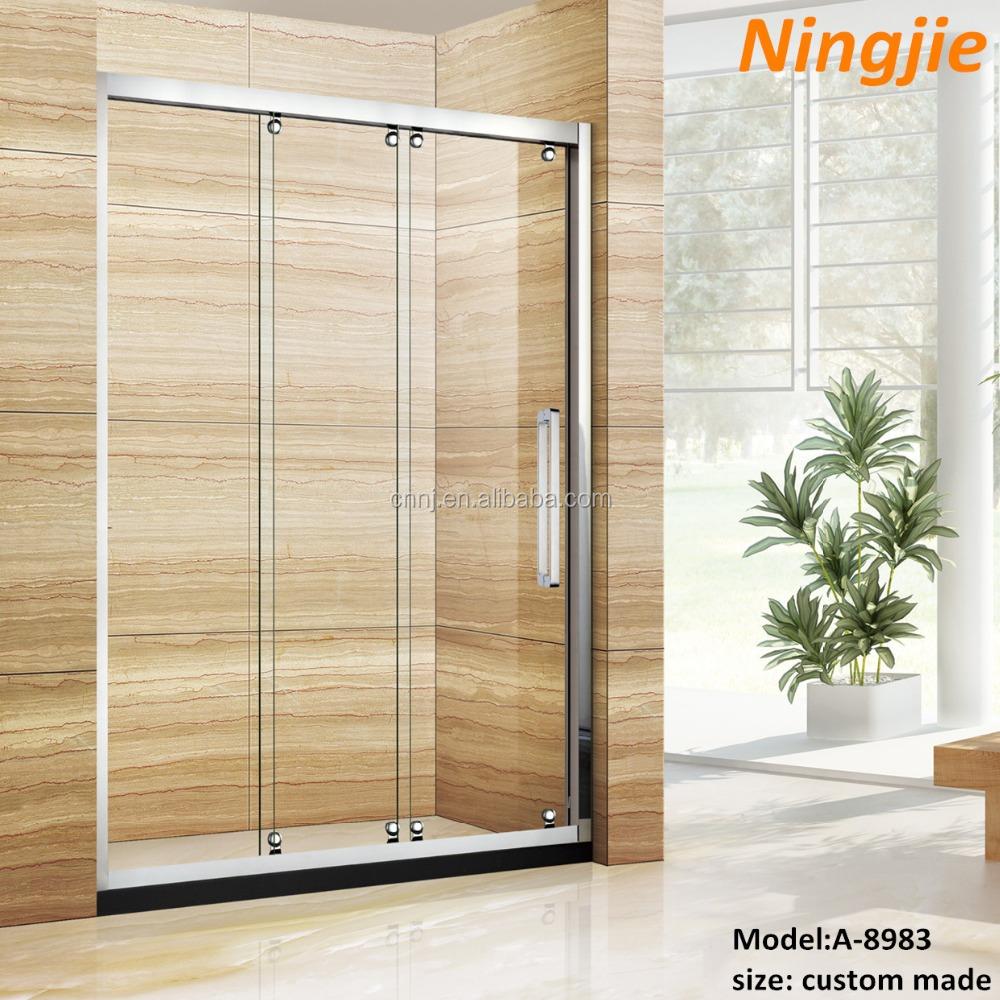 frameless new door installing robinson sliding decor shower doors john