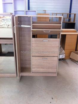 Delicieux 3 Ties Shoe Cabinet With Umbrella Storage