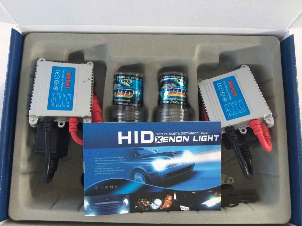 HID xenon kit H1/h3/h7/9005/9006/9004/9007 with super slim ballast 12V 24V 35W 55W 5000k 6000k 8000k