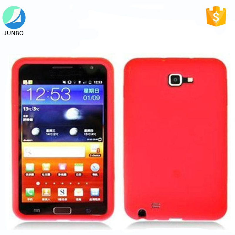 Hot selling mobile phone cover waterproof soft silicone case for samsung galaxy note i717