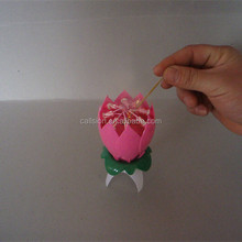 New style supper plastic and paraffin wax religious cake fireworks birthday candle for cakes