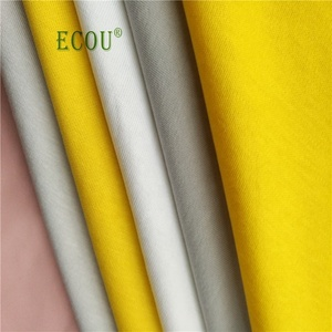 Certificated Organic cotton fabric factory in stock independent design and development