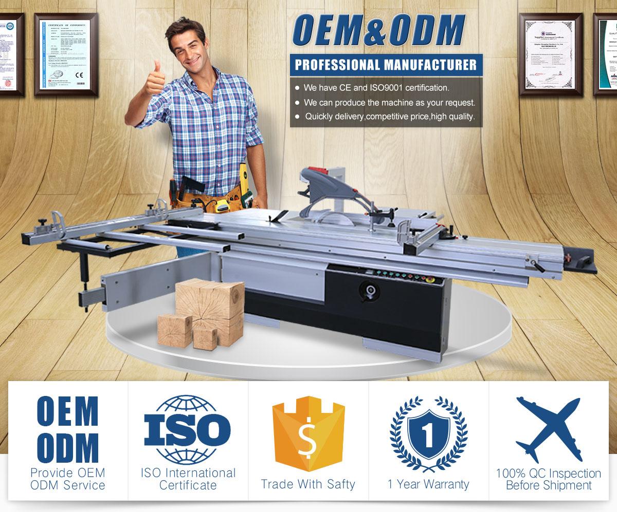 Qingdao Delilai Machinery Co , Ltd  - Sliding table saw