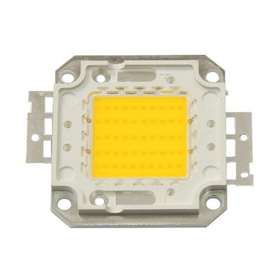 SRY-LED Bulbs High Power LED Chip Beads COB Beads 20W 30W 50W 70W 100W 3000K/6000K For Floodlight Spotlight Energy saving (Color : Cool white, Wattage : 50W)