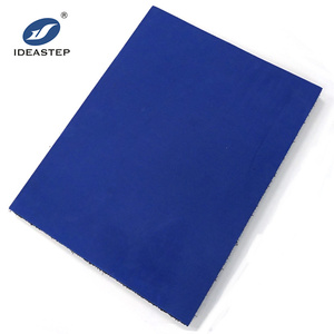 Ideastep produce three layers 380x500x360mm laminated ethylene vinyl acetate eva sheet and a 65 a55 a45 durometer eva block