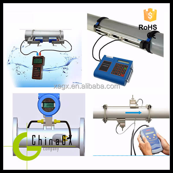 insertion portable ultrasonic vegetable oil/ fuel / water / sewage flow meter