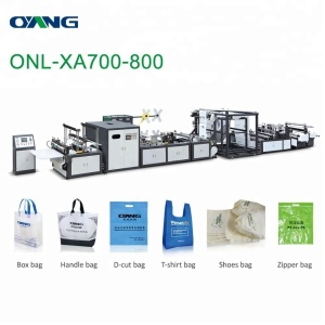ONL-XA700-800 shopping bag making machinery