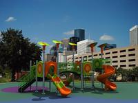 OEM&ODM best selling quality-assured kids plastic material water slide