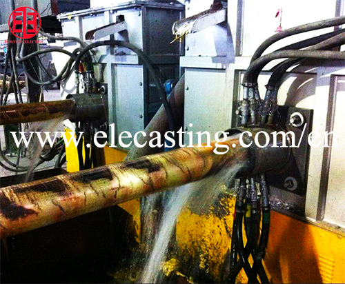 Horizontal Continuous Brass Tube Making Machine