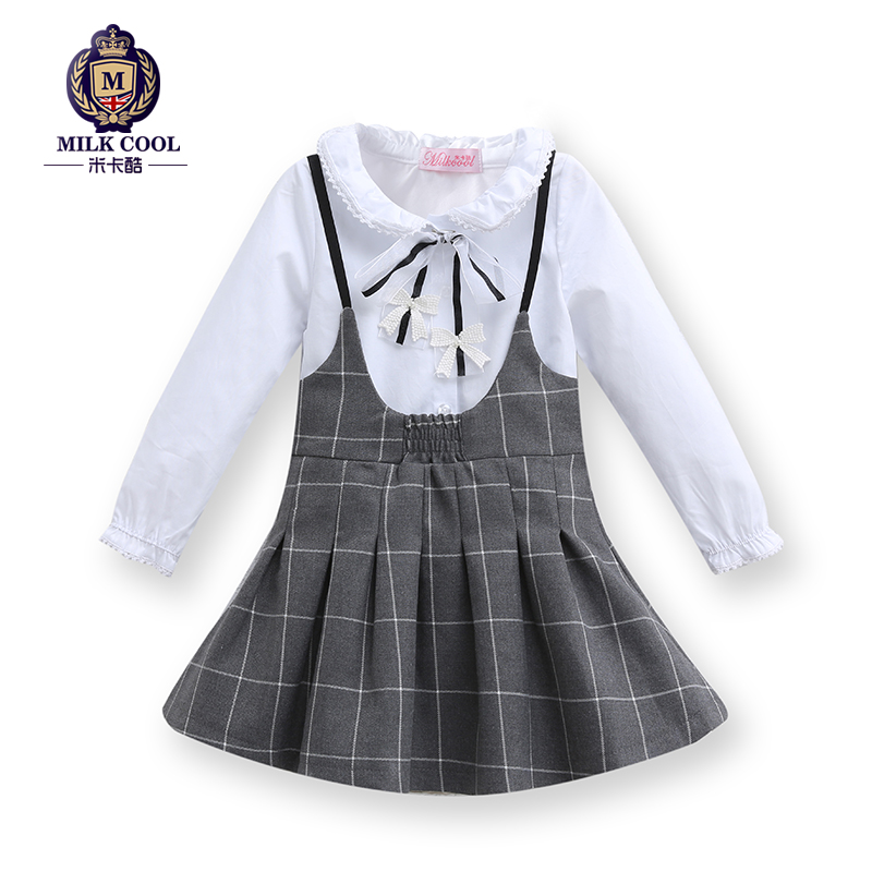 2-8 years kids clothes girls winter clothes fashion family clothing brand mother daughter dresses 2015 children clothing set