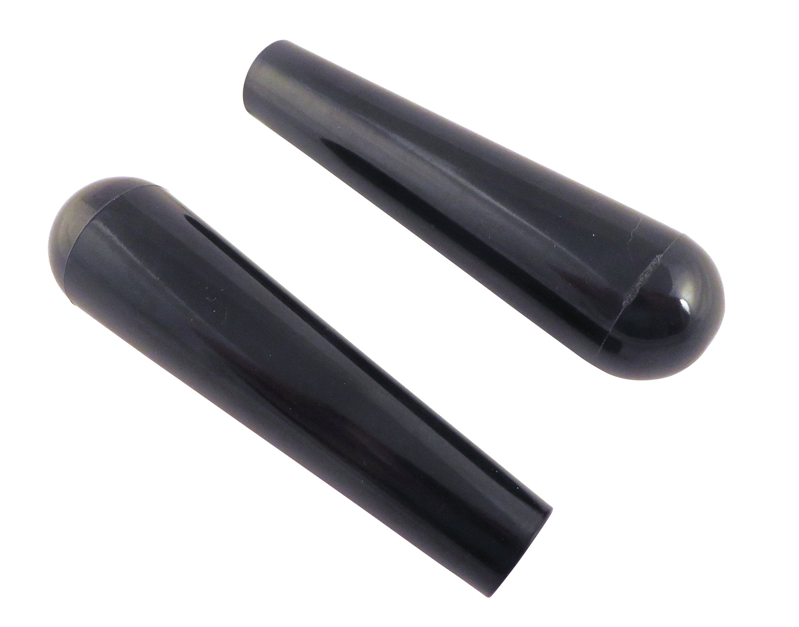 """2 Each 3 3/4"""" Phenolic Tapered Handle Post Knob with 1/4 20 Threaded Insert for Shop Jigs and Fixtures PK-1/4X2"""