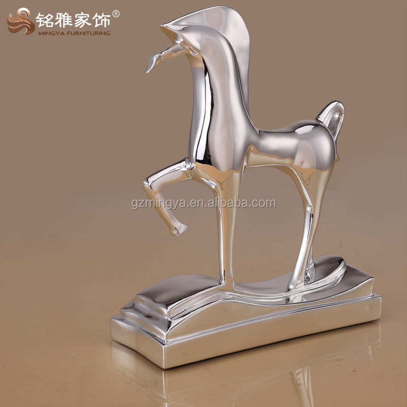 abstract design tabletop/desktop decor competitive price promotional horse figurine items