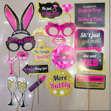 Bachelorette Party Photo Booth Props Girls Night Out Dekoration Kits Hochzeit Braut Dusche <span class=keywords><strong>Spiel</strong></span> Favor Hen Party <span class=keywords><strong>Requisiten</strong></span>