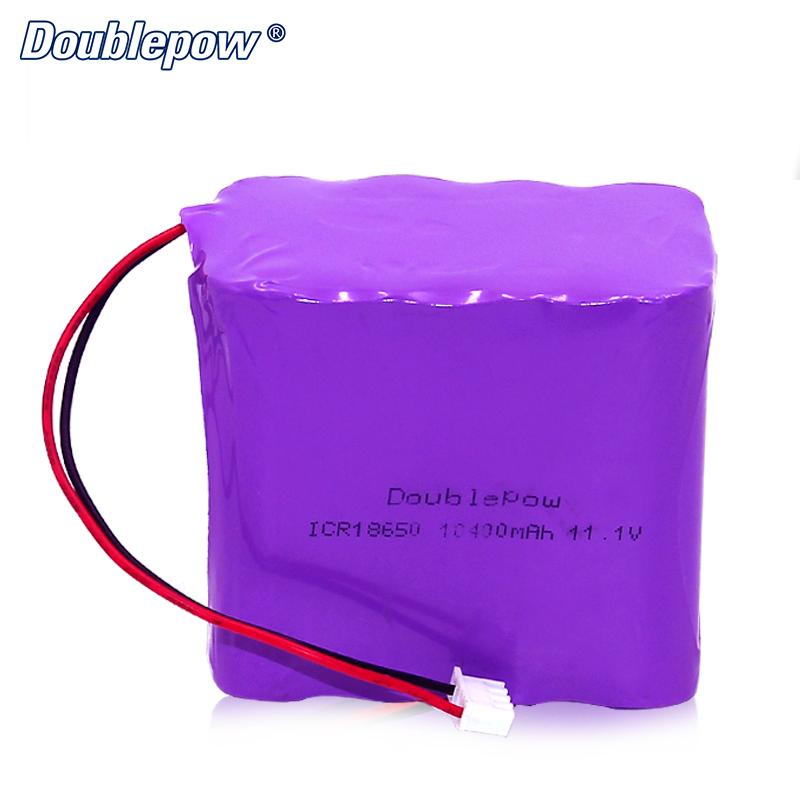 18650 de 11,1 V 12 V 48 V 10400 mAh Paquete de batería de litio de 14,4 V Paquete de batería nimh