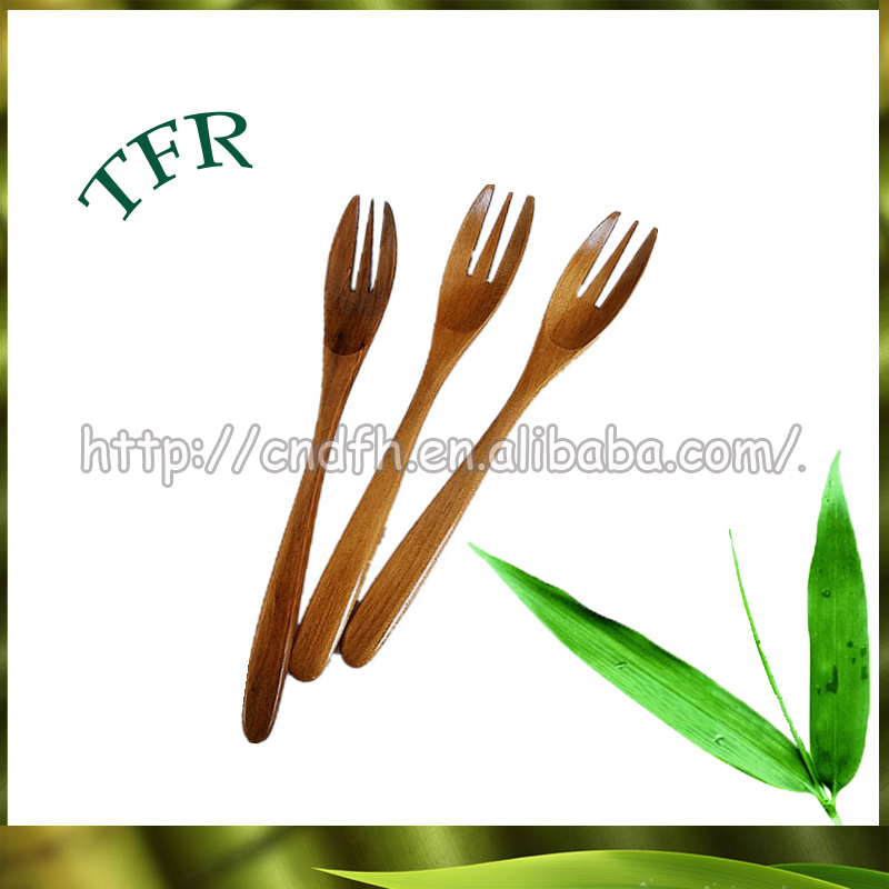 Hot wholesale disposable bamboo wooden cutlery spoon fork knife