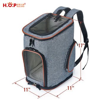 10ebb3c15ecb Airline Approved Soft-Sided Pet Carrier Travel Backpack For Small Dogs and  Cats
