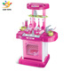 China hot products children pretend play cooking plastic kids tool set toy