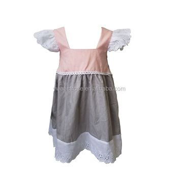 8a299fce8b1e Yiwu east rose company plain girl summer dress wholesale children s boutique  clothing