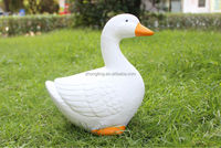 Alibaba wholesale ceramic ducks figurine garden ornament