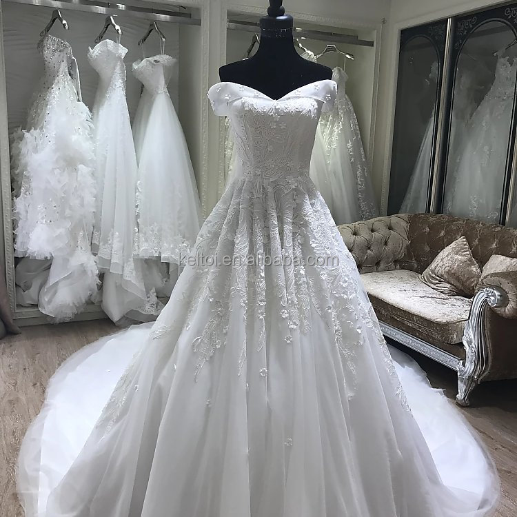 2017 new model china guangzhou wedding dress