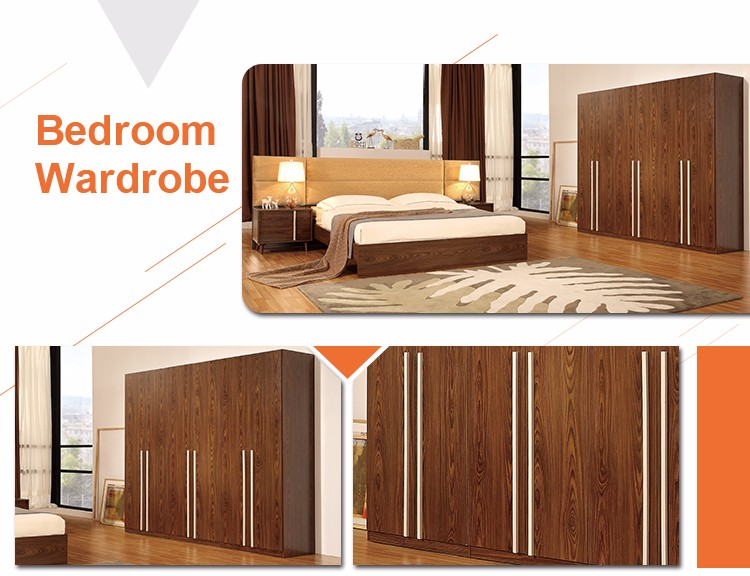 boy02 FoShan QiaoYi king size bedroom furniture Latest Modern design wooden  double bad comfotable  boy02. Wooden Furniture Bad Design