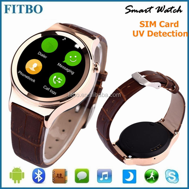 Cheapest And Slim price of smart watch phone for Huawei/LG/htc , GSM Email