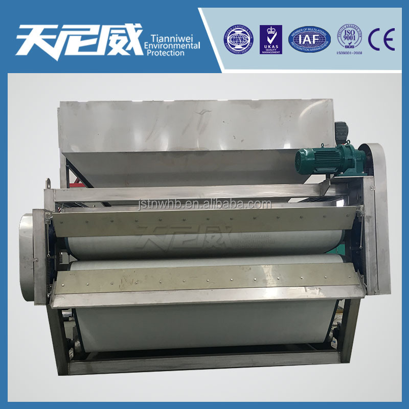 belt sludge dewatering machine/conveyor belt press machine was sludge separate