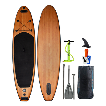 Fantastic Design Customized Color Wood/Bamboo Stand Up Paddle Board Inflatable for Surfing