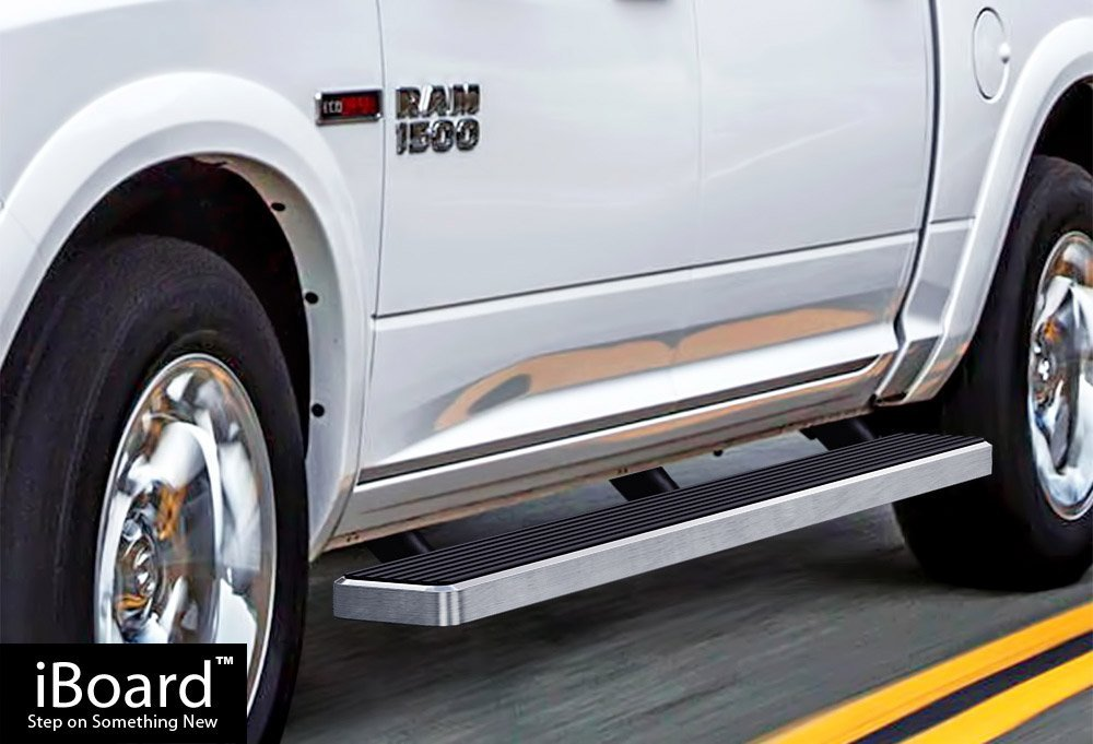 Iboard Silver 6 Inches Running Boards Nerf Bars Side Steps Step