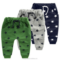 wholesale pure cotton printed baby pants