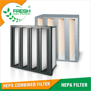 U15 U16 U17 Commercial and household air purifiers high efficiency dust hepa filter sheet