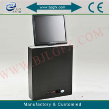 Pop up lcd monitor electric lift for conference room
