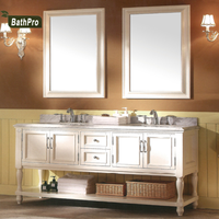 double mirror and sink floor mounted solid wooden lowes bathroom vanity combo
