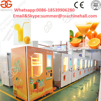 Hot Sale Popular Fresh Fruit Orange Juice Vending Machine Buy