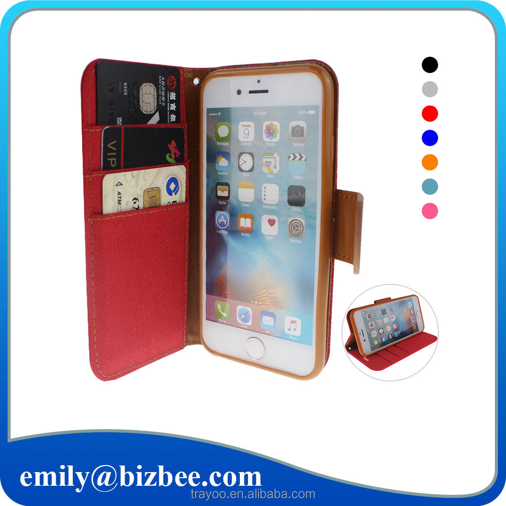 New Design For iPhone 6 Leather Case Flip Cover,Mobile Phone Accessories