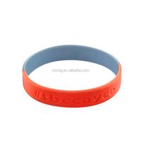 Top Quality Custom Logo OEM Debossed Silicone bracelet Wristband