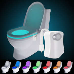 Sensor motion activated LED toilet night light for bathroom /automatic LED night light for toilet bowl