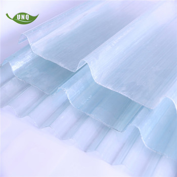 Lightweight Corrugated Plastic Roofing Sheet Price Fiber Frp Transparent Roof Panel Clear Color Fiberglass Material Roof Tile View Translucent Plastic Corrugated Roof Panels Unq Product Details From Hebei Unique Plastics Manufacturer Co
