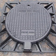 ductile iron square heavy duty MANHOLE COVER