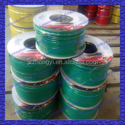 TUV UL listed high quality pvc insulated strand auto wire cable