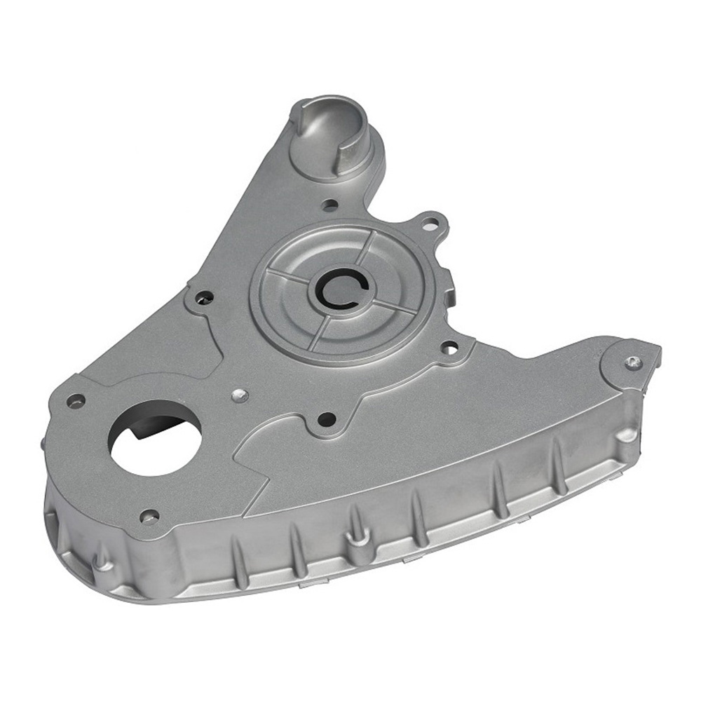 Customized oil cooling bracket OEM aluminium casting parts