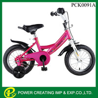16 inch Red tube hot sale foreign trading bicycle kids bike