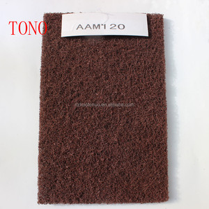 Customized wholesale promotional kitchen cleaning non-abrasive nylon dish non-scratch sponge scouring pad