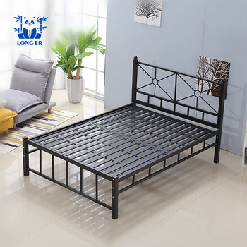 Modern Cheap Prices Single Bed Metal Bed Frame Design For Sale