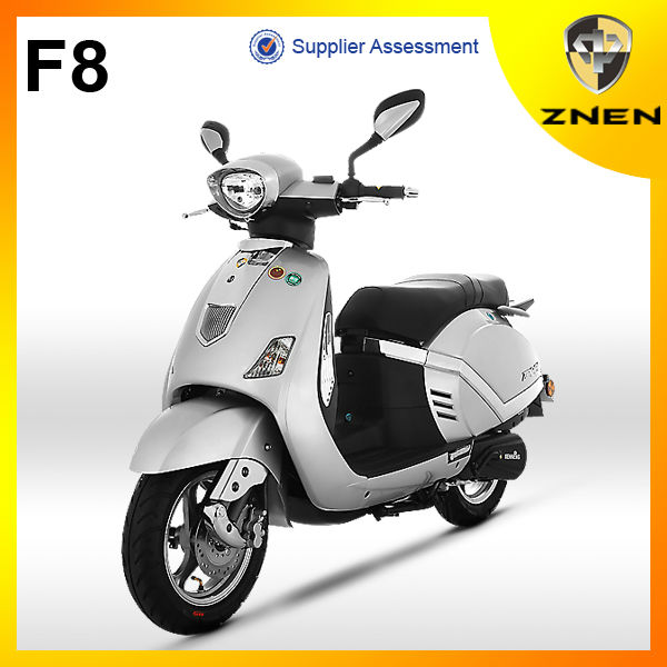 150cc Air Cooled 4 Stroke Gasoline Scooter & Moped with Classical design Classic Model Made in China