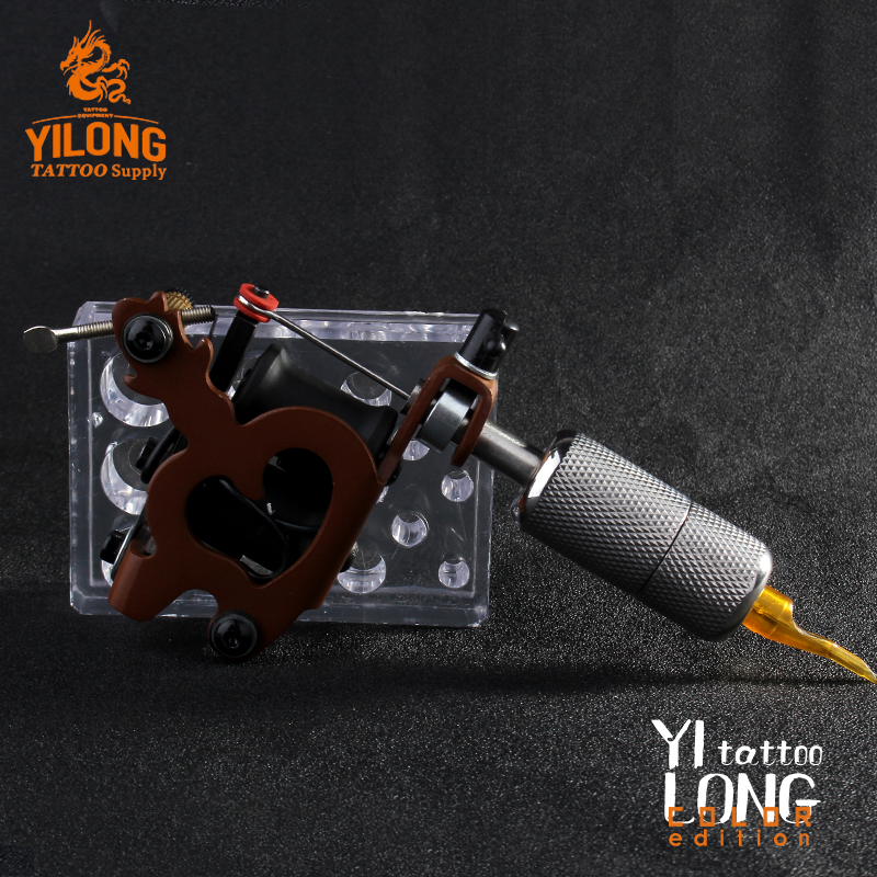 Yilong Tattoo Machine Used for Lined and Shader Coil Tattoo Machine Shape in 'Lovely' Punching machine
